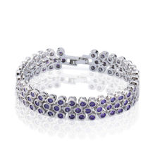 Round Tennis Bracelet Elegant Jewelry For Women YCB497